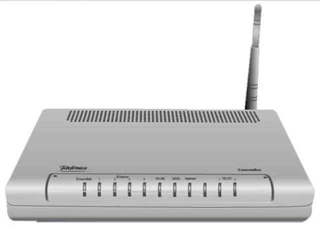 Conexión a Internet desde un router wifi en casa