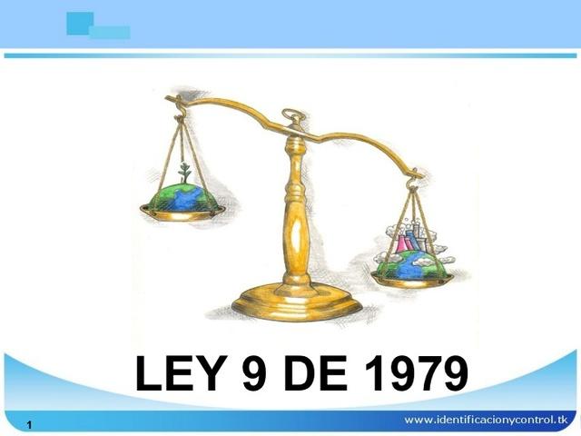 ley 9 del 79