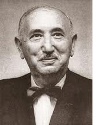 DAVID WECHSLER  1896 -  1981