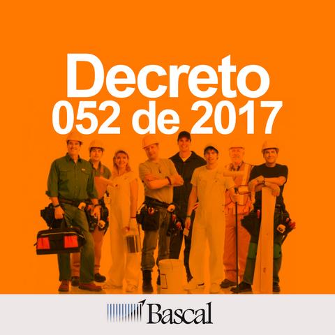 decreto 052