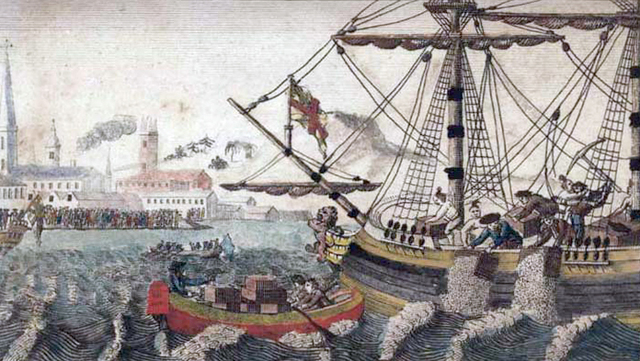 The Tea Act of 1773 and The Boston Tea Party