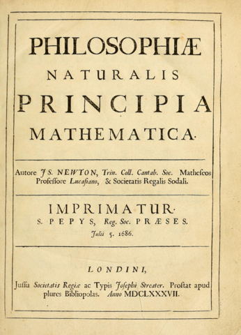 Philosophæ Naturalis Principia Mathematica