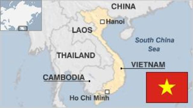 Vietnam is unified as a Communist state