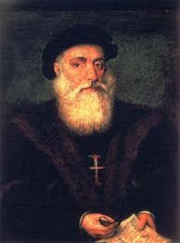 1497- Vasco de Gama Sails for India