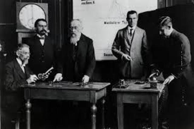Primeros psicólogos experimentales del laboratorio de Wuntd
