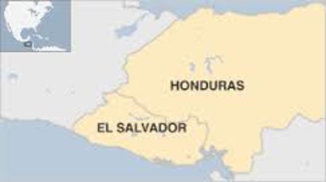 Asistencia a demarcación fronteriza entre Honduras y el Salvador