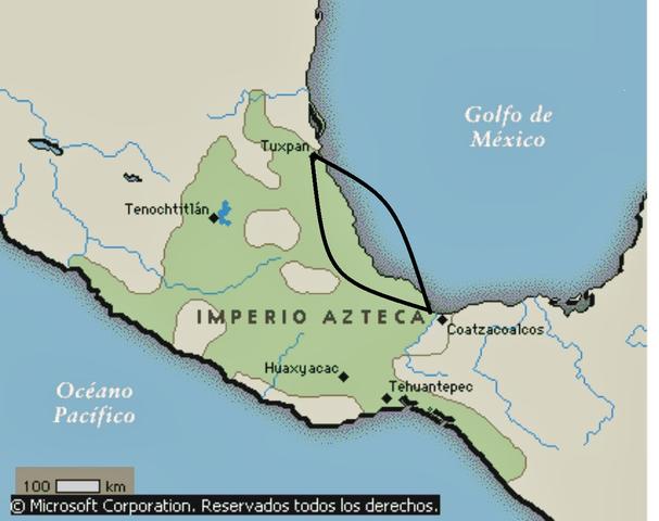 Abordaron la costa del golfo de México