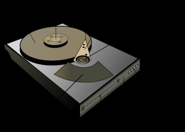 Disco duro portátil.