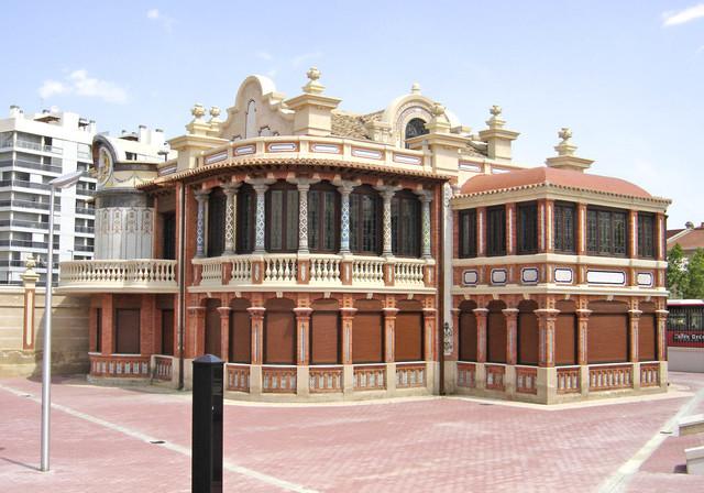 EDAD CONTEMPORANEA: Arquitectura Ecléctica (CHALE SOLANS)
