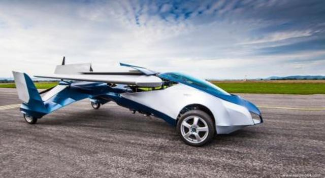 Prototipo de carro volador
