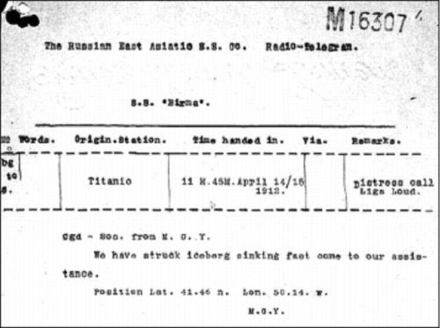 Radio on the RMS Titanic