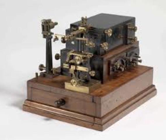 Multiplexor Telegrafico 1874