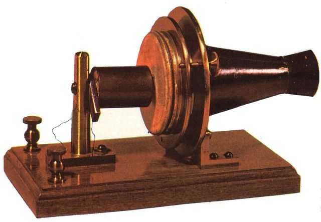 Primer pizarra telefónica manual 1882