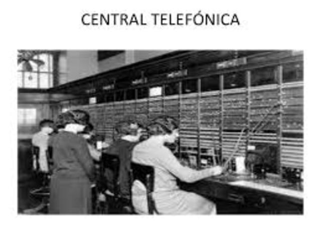 Instalación de lineas telefónicas en EU 1897