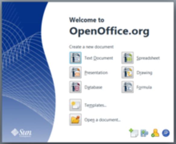 lanzan open office.