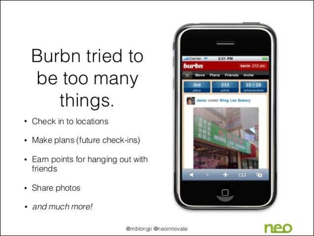 Kevin Systrom creates the Burbn project