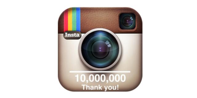 Instagram reaches 10 million users!