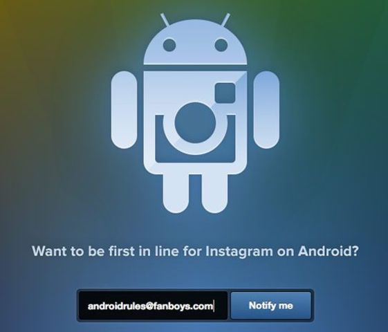 Instagram released on Android Phone Devices
