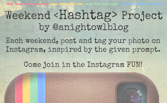 Launch of Weekend Hashtag Project
