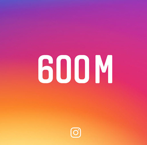 Instagram Reaches 600 Million Monthly Active Users