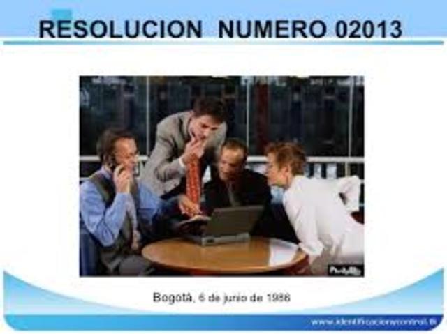 resolucion 02013