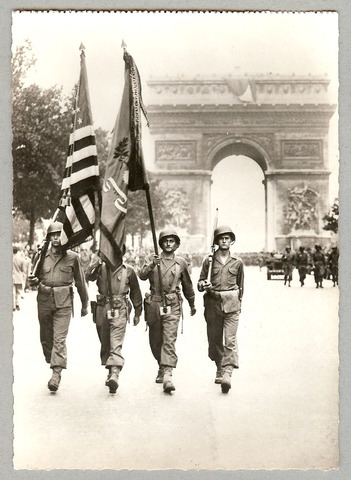Allies Liberate(free) Paris