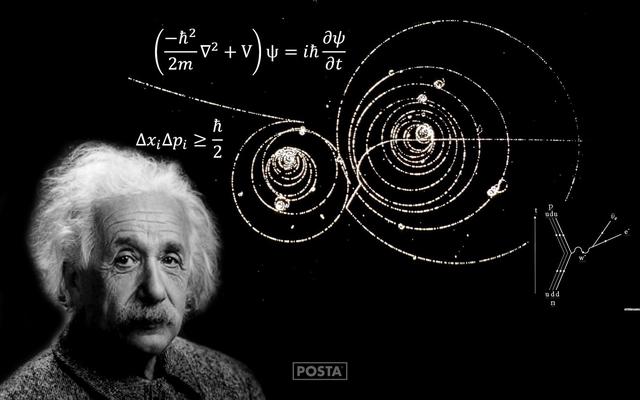 Einstein desarrolla la teoría de la relatividad
