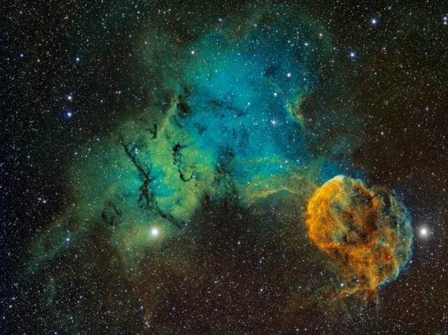El origen de los rayos cósmicos.
