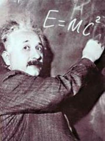 E = mc ^ 2