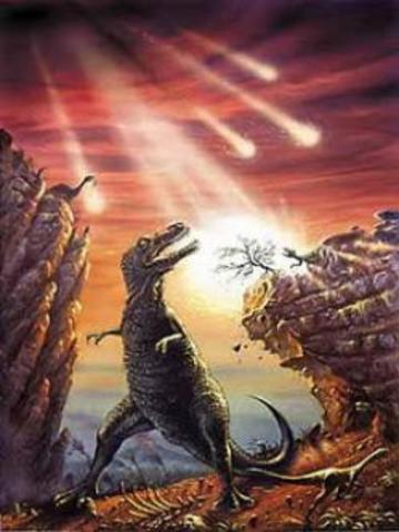 Extinción de los Dinosaurios.