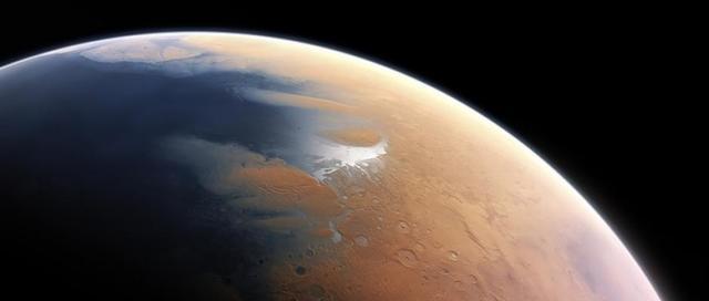 Agua en Marte 2008