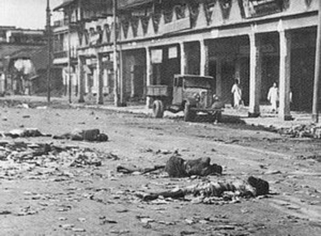 WWII - Riots Between Hindus and Muslims