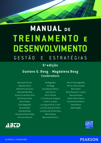 Manual de T&D - Vol 6