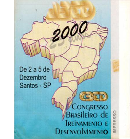 2000 - CBTD - Congresso Brasileiro de Treinamento e Desenvolvimento