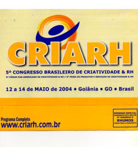 CRIARH - Congresso Brasileiro de Criatividade