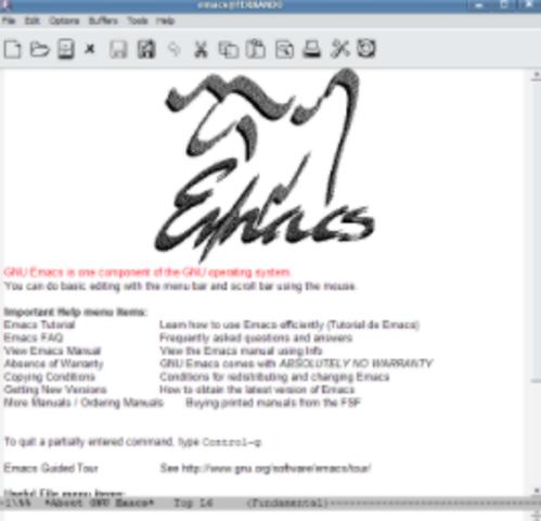 Editor de texto GNU