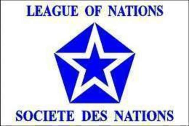 Fundación de la Sociedad de Naciones.