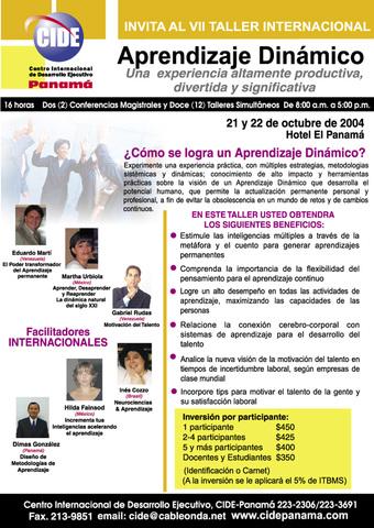 VII Taller Internacional Aprendizaje Dinámico