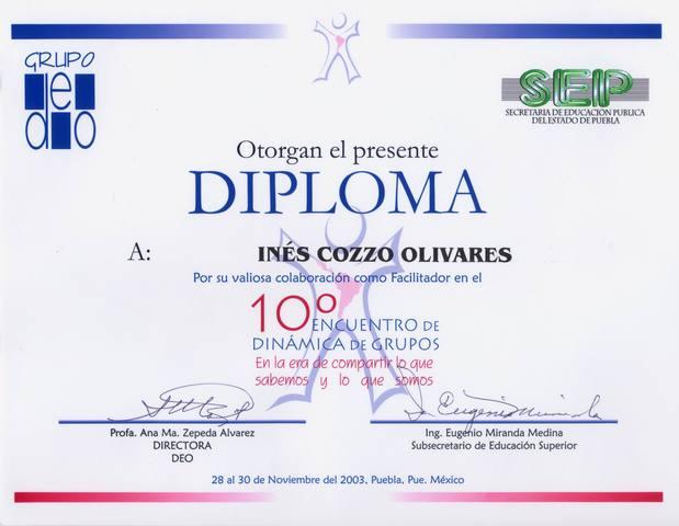 10º Encuentro de Dinámica de Grupos (México)
