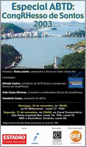 Especial ABTD: CongRHesso de Santos
