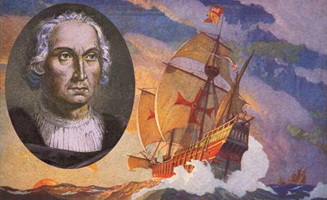 La llegada de Cristobal Colon