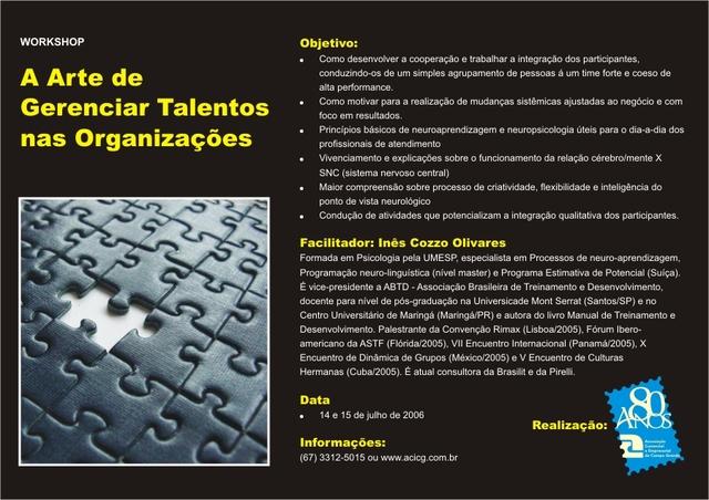 ACICG - Ass. Com. e Ind. de Campo Grande