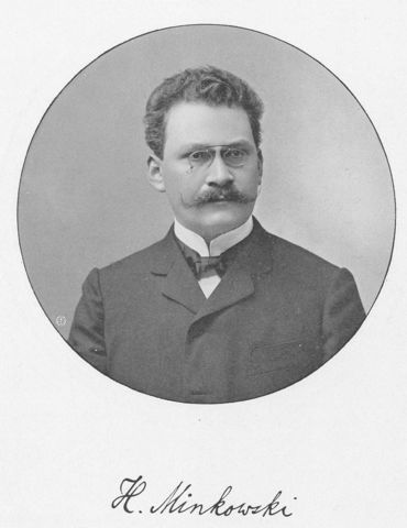 Hermann Minkowski(Matematico Ruso) Espacio de Minkoswki