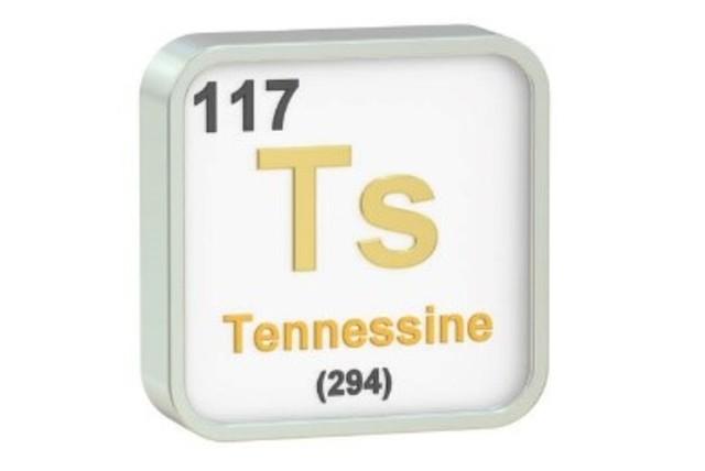 Se anexa el Téneso a la tabla periódica