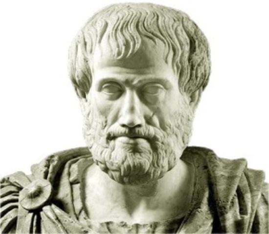 Conformación de la materia según Aristóteles