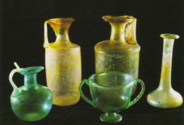 Invención del vidrio