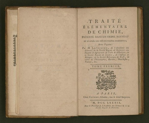 Primer libro de texto de la química moderna