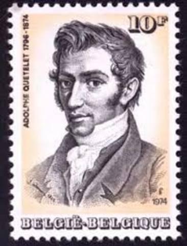 Bélgica Adolphe Quetelet