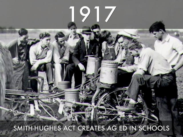 National Vocational Education Act by Smith-Hughes