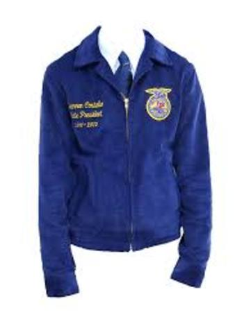 Adoption Of The Official FFA Jacket